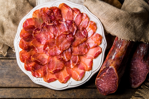 lomo ibérico de bellota chacinas de salamanca