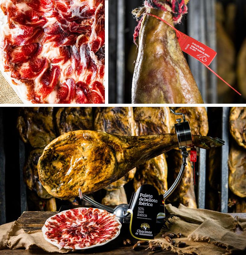 paleta de bellota ibérico chacinas de salamanca